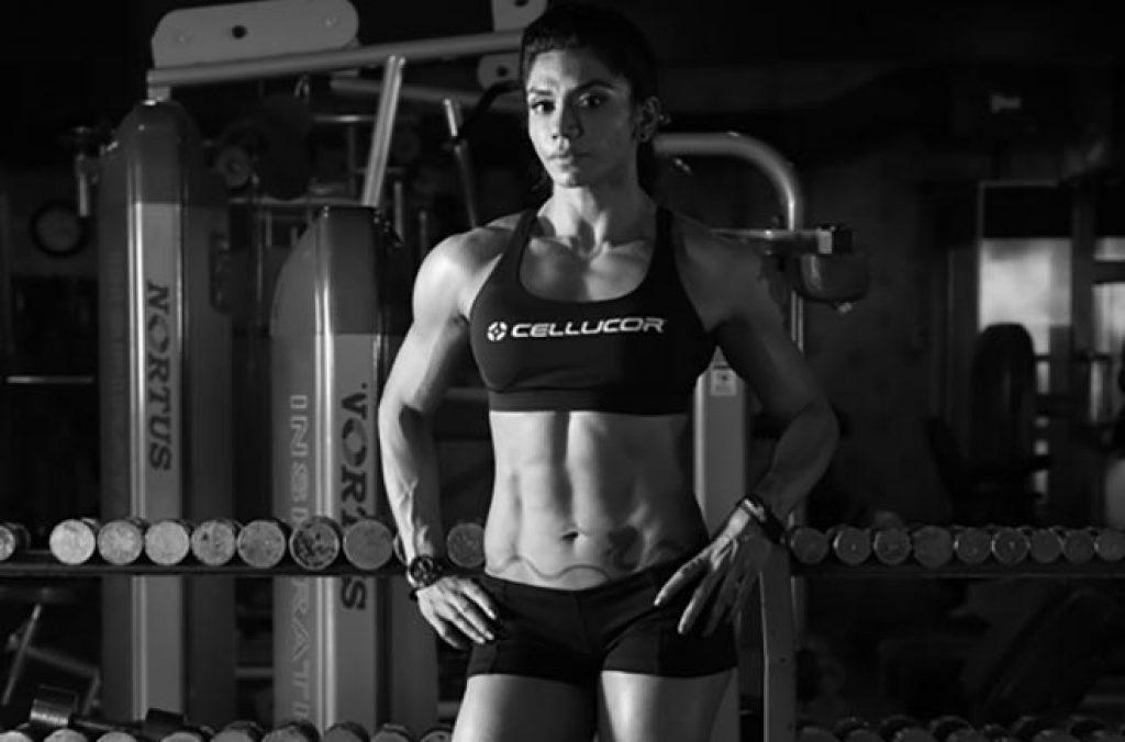 Yashmeen Manak Female Bodybuilder